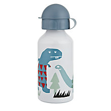 Buy little home at John Lewis Dinosaurs Lunch Bottle Online at johnlewis.com