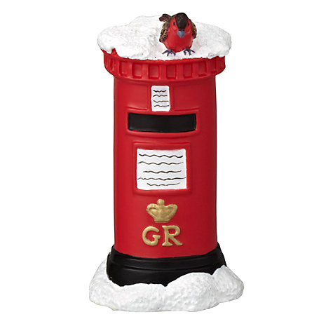Buy John Lewis Christmas Postbox Cake Topper Online at johnlewis.com