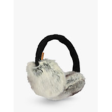 Buy Barts Faux Fur Earmuffs, Grey Online at johnlewis.com