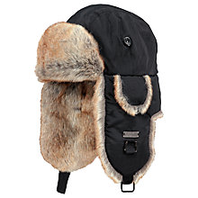 Buy Barts Kamikaze Bomber Hat, One Size, Black Online at johnlewis.com