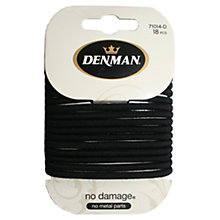 Buy Denman Large No Damage Elastics x 18 Online at johnlewis.com