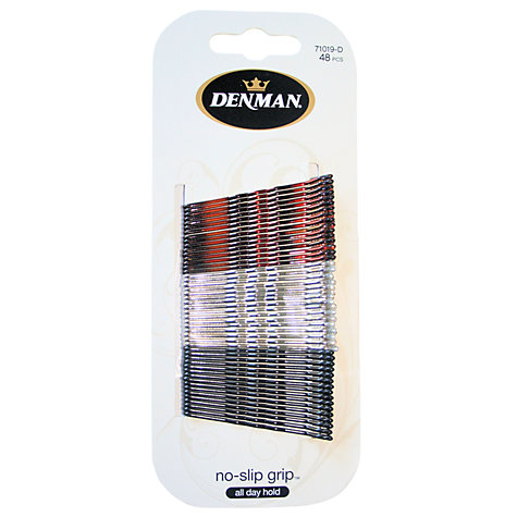 Buy Denman No Slip Bobby Pins x 48 Online at johnlewis.com