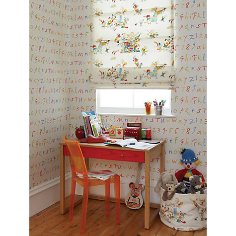 Buy Osborne & Little By Quentin Blake's ABC Wallpaper, Multi, W6062-01 Online at johnlewis.com