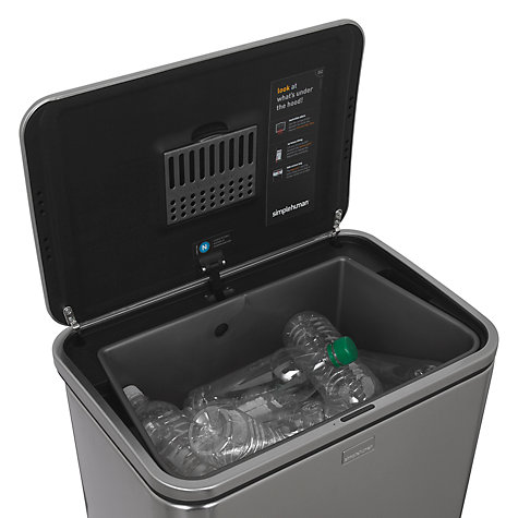 Buy simplehuman Sensor Bin, 40L Online at johnlewis.com