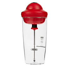 Buy Bodum Latte Milk Frother, Red Online at johnlewis.com