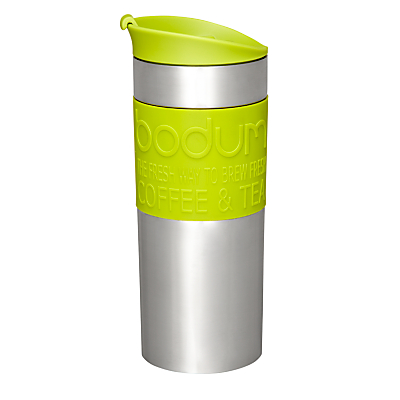 Bodum Travel Press Coffee Mug, Lime