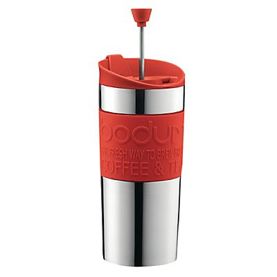 Bodum Travel Press Coffee Mug, Lime