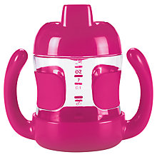 Buy OXO Tot Sippy Cup with Handles, Pink Online at johnlewis.com