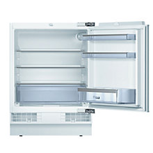 Buy Bosch KUR15A50GB Integrated Undercounter Larder Fridge, A+ Energy Rating, 60cm Wide Online at johnlewis.com