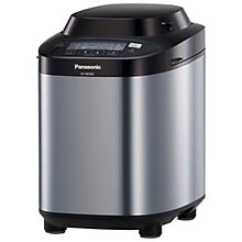 Buy Panasonic SD-ZB2502BXC Bread Maker, Stainless Steel Online at johnlewis.com