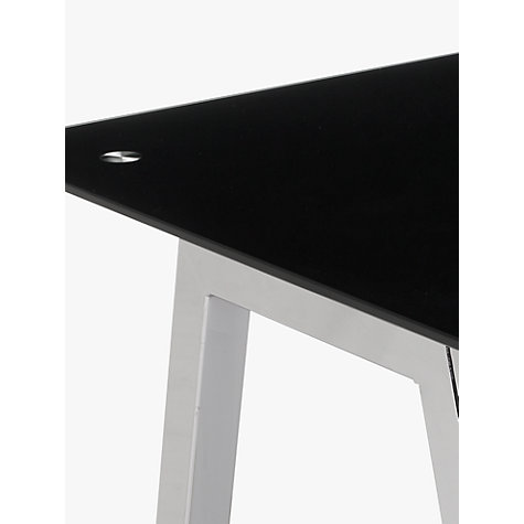 Buy John Lewis James Desk, Black Online at johnlewis.com