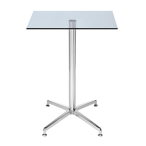Buy HND Brigitte Glass Bar Table, H93.5 x W60 x D60cm Online at johnlewis.com