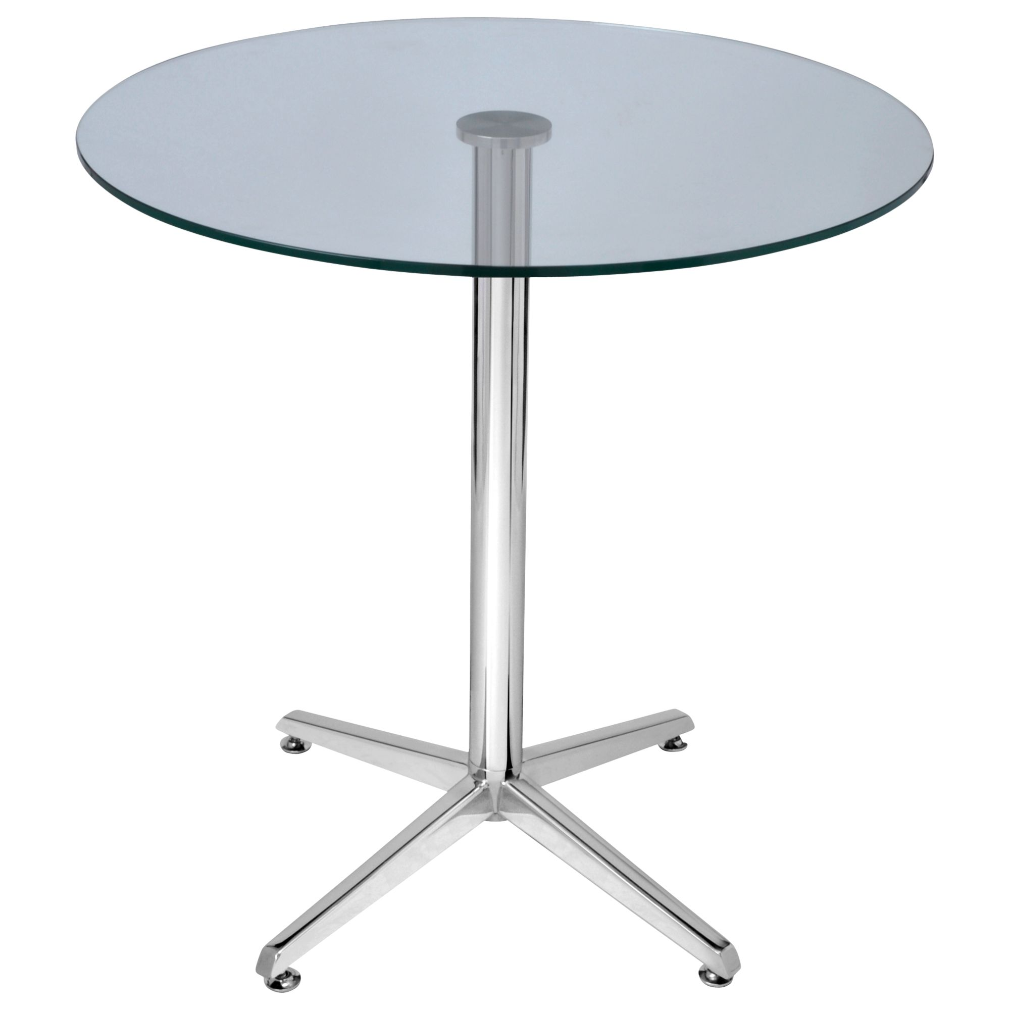 HND HND Brigitte 4 Seater Glass Dining Table