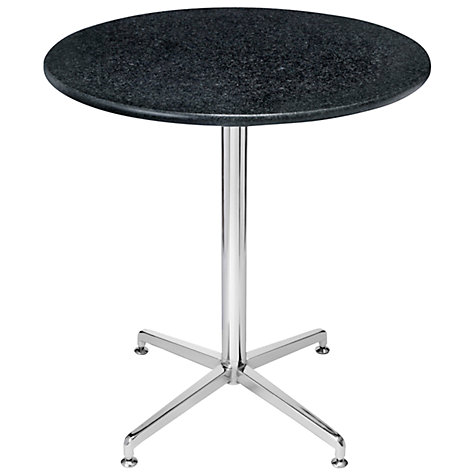 Buy HND Brigitte Granite Dining Table, Nero Bon Accord, H75.5 x Dia.70cm Online at johnlewis.com
