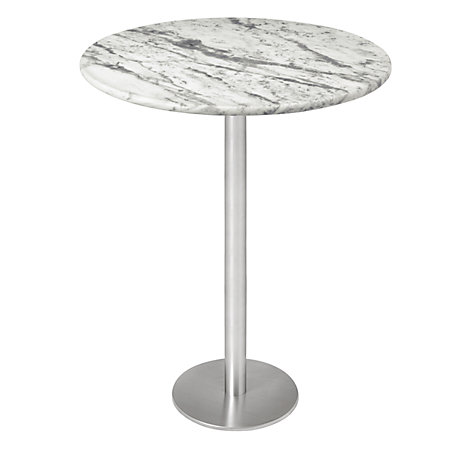 Buy HND Ingrid Marble Bar Tables, Carrara Online at johnlewis.com