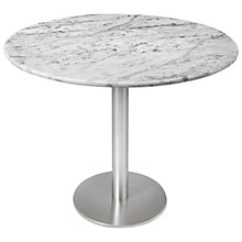 Buy HND Ingrid Marble Dining Tables, Carrara Online at johnlewis.com