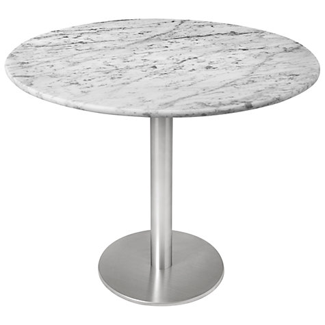 Buy HND Ingrid 4 Seater Marble Dining Table Online at johnlewis.com
