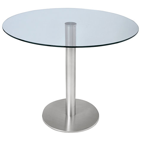 Buy HND Ingrid 4 Seater Glass Dining Table Online at johnlewis.com