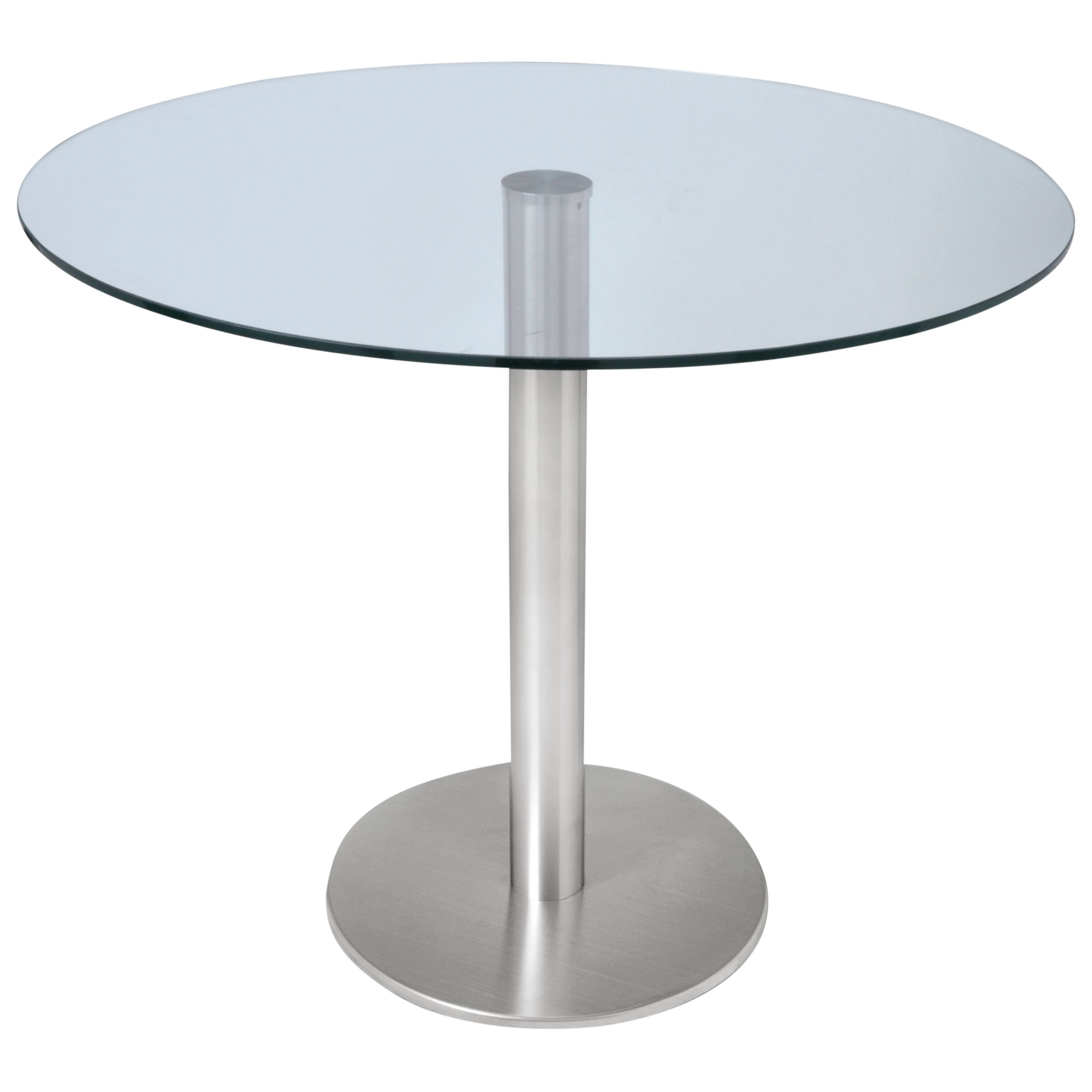HND HND Ingrid 4 Seater Glass Dining Table