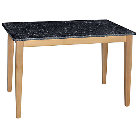 Buy HND Katrina Bar Table, Blue Pearl Online at johnlewis.com