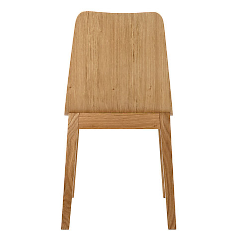 Buy Bethan Gray for John Lewis Noah Oak Plywood Dining Chair Online at johnlewis.com