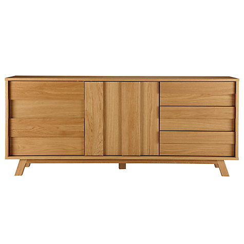 Buy Bethan Gray for John Lewis Noah 2 Door, 3 Drawer Sideboard Online at johnlewis.com