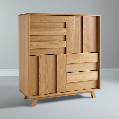 Buy Bethan Gray for John Lewis Noah 3-door, 2-drawer Cupboard Online at johnlewis.com