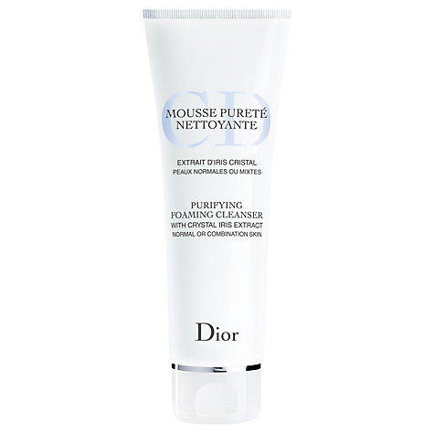Buy Dior Purifying Foaming Cleanser, 125ml Online at johnlewis.com