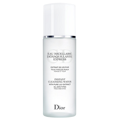 Buy Dior Instant Cleansing Water, 200ml Online at johnlewis.com