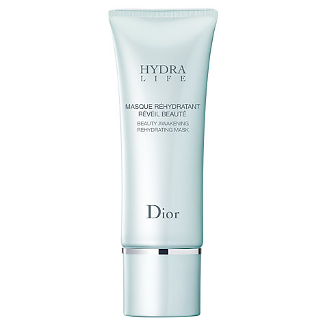 Buy Dior Hydra Life Beauty Awakening Rehydrating Mask, 75ml Online at johnlewis.com