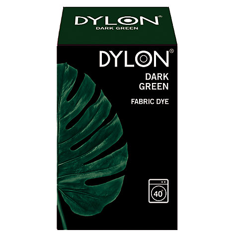 Buy Dylon Fabric Dye for Machine Use, Dark Green Online at johnlewis.com