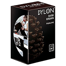 Buy Dylon Fabric Dye for Machine Use, Dark Brown Online at johnlewis.com