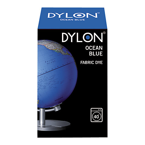 Buy Dylon Fabric Dye for Machine Use, Ocean Blue Online at johnlewis.com