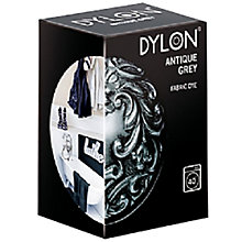 Buy Dylon Fabric Dye for Machine Use, Antique Grey Online at johnlewis.com
