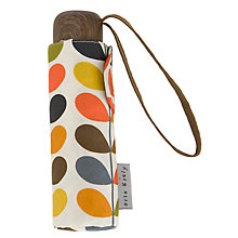 Buy Orla Kiely Multi Stem Print Folding Umbrella in Gift Box, Multi Online at johnlewis.com