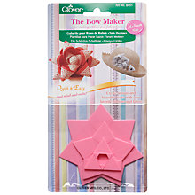 Buy Clover Bow Maker Templates, Medium Online at johnlewis.com