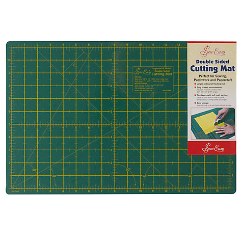 Buy Sew Easy Cutting Mat, 45 x 30cm Online at johnlewis.com