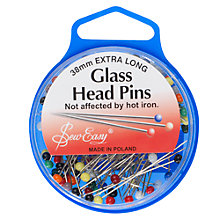 Buy Sew Easy Glass Head Pins Online at johnlewis.com