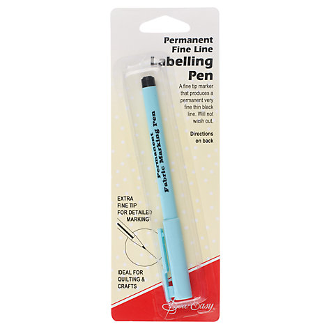 Buy Sew Easy Permanent Fine Line Labelling Pen Online at johnlewis.com
