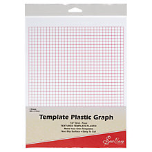 Buy Sew Easy Plastic Graph Template Online at johnlewis.com