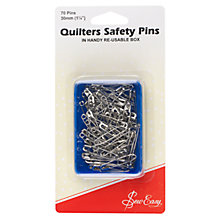 Buy Sew Easy Quilter's Safety Pins Online at johnlewis.com