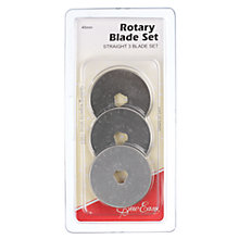 Buy Sew Easy Rotary Blade Set: Straight Online at johnlewis.com