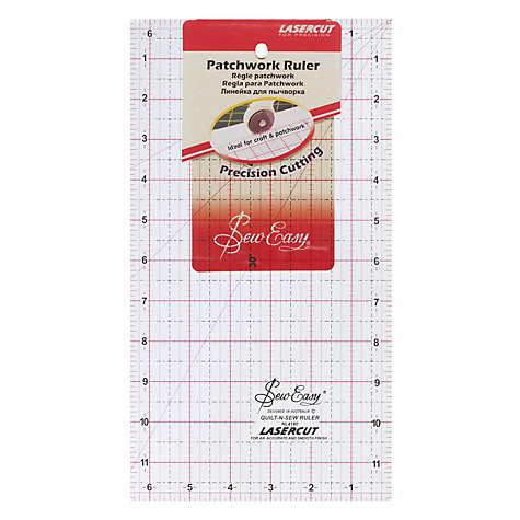 "Buy Sew Easy Patchwork Rule, 12"" x 6.5"" Online at johnlewis.com"