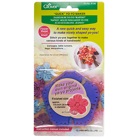 Buy Clover Flower Yo-Yo Maker, Small Online at johnlewis.com
