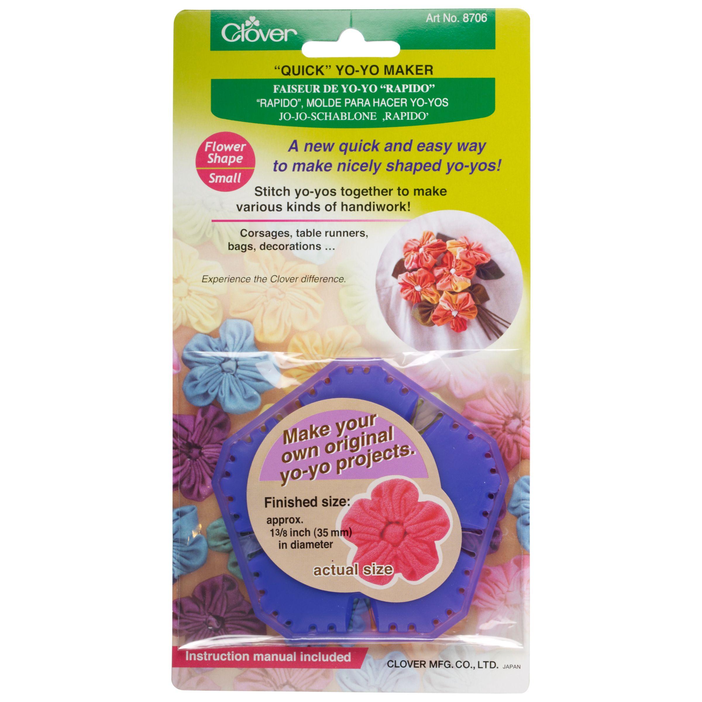 Cloverleaf Clover Flower Yo-Yo Maker, Small