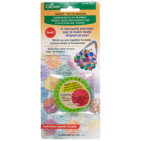Buy Clover Yo-Yo Maker, Small Online at johnlewis.com