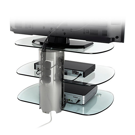 "Buy Off The Wall SKY 750 Stand for TVs up to 52"", Silver Online at johnlewis.com"