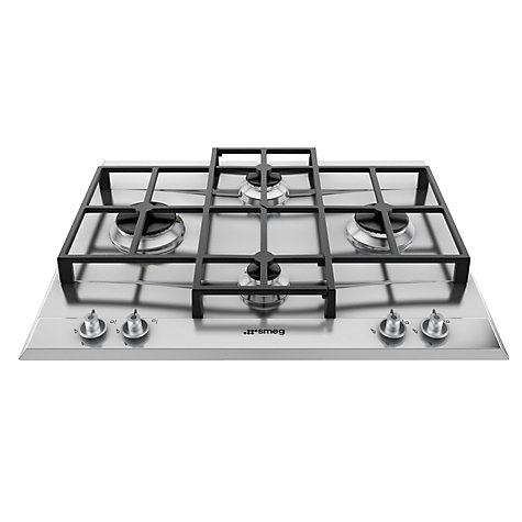 Buy Smeg P1640X Gas Hob, Stainless Steel Online at johnlewis.com