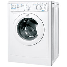Buy Indesit IWC6145 Washing Machine, 6kg Load, A Energy Rating, 1400rm Spin, White Online at johnlewis.com
