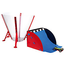 Buy Laser Stunt Chaser Cyclone Force Funnel and Jump Set Online at johnlewis.com